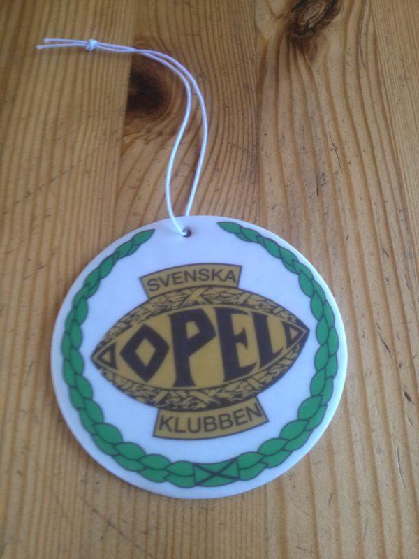 Doftmärke med Svenska Opelklubbens logga